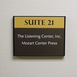 directory sign example