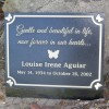 Custom cast bronze commemorative plaque