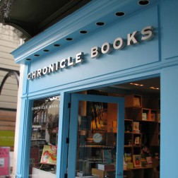Chronicle Books Exterior Sign