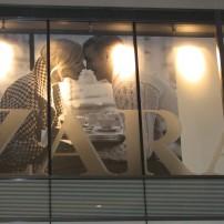 Zara vinyl graphics